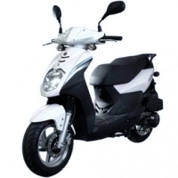 Скутер Sym Orbit 50cc (белый)
