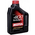 Масло Motul 4100 Turbolight 10W-40 1L (9)